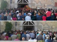 Caggiano: una folla addolorata per l'ultimo saluto ad Antonio Altilio, morto durante un'escursione
