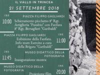 """Centenario I Guerra Mondiale. Domani a Montesano """"'918. Tutti a casa! Il Vallo in trincea"""""""