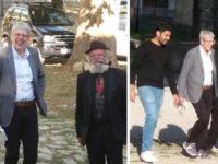 Visita a sorpresa a Roscigno Vecchia. Il giornalista Mediaset Mario Giordano in giro nel borgo fantasma