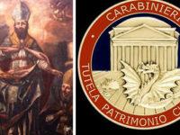 Carabinieri recuperano prezioso dipinto del XVIII secolo. Era stato rubato a Picerno nel 2011