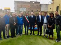 Banca Monte Pruno vicina alle famiglie. Inaugurato il nuovo parco giochi a Mercato San Severino