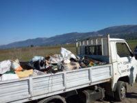 A Sant'Arsenio una raccolta straordinaria di rifiuti abbandonati illecitamente sul territorio
