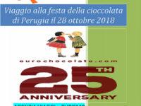 L'Agenzia Viaggi Ruocco organizza per il 28 ottobre viaggio a Perugia per l'Eurochocolate 2018