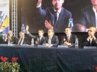 Roberto Mancini, Commissario Tecnico della Nazionale, incontra i giovani calciatori a Villa d'Agri