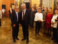Il Sindaco di Celle Marotta ospite alla cerimonia di commiato dell'ambasciatore bulgaro Marin Raycov