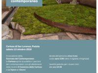 """Domani a Padula """"Giornata del Contemporaneo"""" con visite alla Certosa di San Lorenzo"""