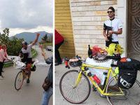 1200 km in sella alla bicicletta dal Piemonte a Sanza. L'avventura del giovane Antonio Lanzieri