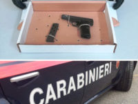 In auto ad Atena Lucana con una pistola con matricola abrasa. Arrestato 18enne di Sanza