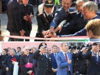 Il Ministro dell'Ambiente Sergio Costa inaugura la Stazione dei Carabinieri Forestali a Castellabate