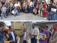 L'attore Kabir Bedi visita Caggiano alla ricerca di location per la produzione di film di Bollywood