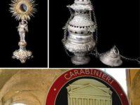 Il Comando Carabinieri Tutela Patrimonio Culturale restituisce oggetti sacri rubati a Contursi e Ceraso