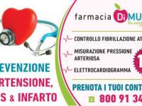 Rischio ictus ed infarto, alla Farmacia Di Muria di Padula Scalo al via la campagna di prevenzione