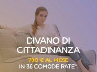"""Reddito di cittadinanza, l'irriverente campagna social di +Europa Salerno. """"Un divano di cittadinanza"""""""