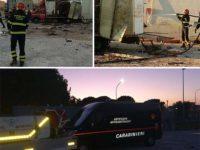 Paura a Battipaglia. Esplode il camion dei fuochi d'artificio durante la festa patronale