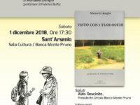 Banca Monte Pruno. L'1 dicembre a Sant'Arsenio presentazione del libro della giornalista Manuela Donghi