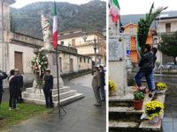 Giornata dell'Unità Nazionale e delle Forze Armate. Il Vallo di Diano commemora i Caduti in Guerra