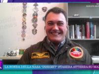 """Cesare Guariniello di Sala Consilina a """"La Vita in Diretta"""" per parlare delle ricerche su Marte"""
