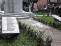 A Sant'Arsenio la cerimonia di scoprimento di due lapidi dedicate ai caduti nella Prima Guerra Mondiale