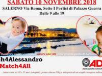 Bambino affetto da rara malattia genetica. Il 10 novembre al Comune di Salerno l'iniziativa per aiutarlo