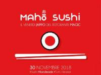 Dal 30 novembre e tutti i venerdì al Magic Hotel di Atena Lucana i sapori orientali del sushi