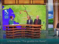 """L'Itinerario """"Tre grotte e tre fiumi""""del Parco Nazionale protagonista su Rai3 a """"Geo"""""""