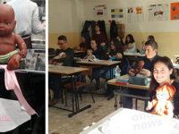 Chiusura Punto Nascita Polla. Al Leto di Teggiano alunni e docenti portano bambole in segno di protesta