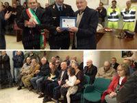 Sant'Arsenio: la comunità festeggia i 100 anni dell'ex vigile urbano Arsenio Ippolito