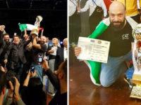 """Costantino Pietrafesa,coiffeur e barbiere di Balvano,tra i campioni del mondo di """"World Champion Barber"""""""