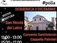 """Polla: domani """"Domenica al Museo"""" con la nuova apertura della chiesa di San Nicola dei Latini"""