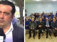 San Pietro al Tanagro: Banca Monte Pruno dona pc alla scuola derubata. Quaranta ringrazia Albanese
