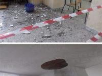 Maltempo. Cadono calcinacci nella Scuola primaria di Sanza, paura tra gli studenti