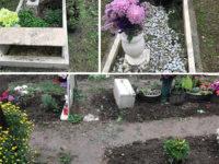 Le piogge abbondanti fanno cedere il terreno nel cimitero di Sala Consilina. Danneggiate circa 40 tombe