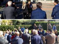 """Stazione elettrica Montesano.La senatrice M5S Gaudiano incontra i cittadini: """"L'opera non è autorizzata"""""""