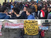 """""""Vogliamo questo reparto"""". Studenti e cittadini in protesta per la chiusura del Punto Nascita a Polla"""