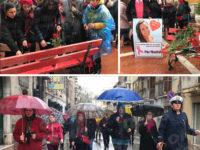 Una marcia silenziosa a Sala Consilina per ricordare la giovane Violeta e tutte le vittime di violenza
