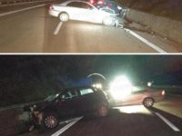Violento scontro tra auto sulla Bussentina. Tre persone ferite