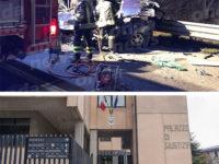 Tragico scontro ad Atena Lucana.A giudizio autista del tir per la morte di Petrone,Cicchetti e Schettino