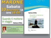 Monte San Giacomo: domani la presentazione dell'ultimo libro di Barbara D'Alto