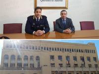 Presentato a Salerno il nuovo Dirigente della Squadra Mobile. Si tratta di Marcello Castello