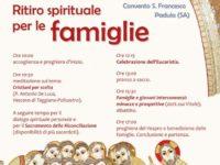Padula: domani ritiro spirituale della famiglie con la Diocesi di Teggiano-Policastro