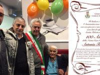 La comunità di Caselle in Pittari festeggia i cento anni di Antonia Torre