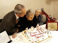 La comunità di Monte San Giacomo festeggia i 100 anni di nonna Concetta Di Concilio