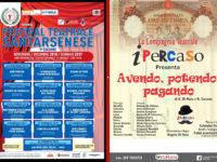 """La Compagnia """"Ipercaso"""" in scena domani sul palco del """"Festival Teatrale Santarsenese"""""""