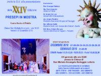"""Padula: domani l'inaugurazione della XXIV edizione di """"Presepi in Mostra"""""""