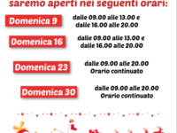 Al Cassiopea shopping Center di Sant'Arsenio un Natale speciale con l'apertura domenicale