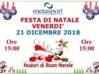 Alla Metasport di San Rufo una festa per dare il benvenuto al Natale