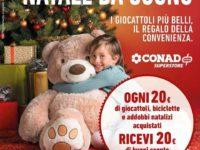 Negli store Conad di Atena Lucana e Sant'Arsenio promozione natalizia imperdibile per i più piccoli