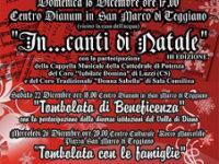 """Teggiano: oggi la terza edizione di """"In…canti di Natale"""" al Centro Dianum di San Marco"""