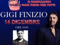 14 dicembre – GIGI FINIZIO incontra i fan al Centro Commerciale Diano