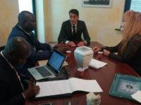 Atena Lucana: l'imprenditore Carmine Santangelo accoglie una delegazione ministeriale del Kenya